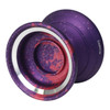 Magic Carpfin yoyo Purple with red splash