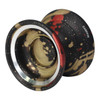 Magic Carpfin yoyo Black with gold and red