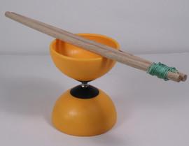 Open Box Fixed Axle Diabolo with Wooden Sticks