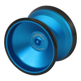 YoyoFactory Boost Yoyo Blue with Black Rims