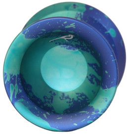 Yoyo Friends Magpie Yoyo Blue Green Acid Wash