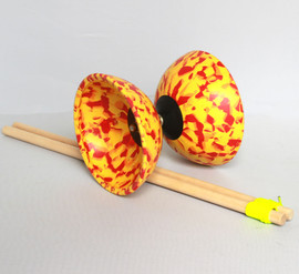 Hypernova Diabolo with Wooden Sticks and String