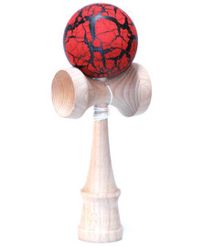 Bahama Kendama with Crackle Colored Ball