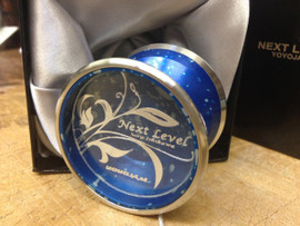 YoyoJam Next Level Yoyo Blue Silver Acid Wash Yoyo