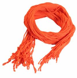 25 Orange Polyester Yoyo Strings Type 6