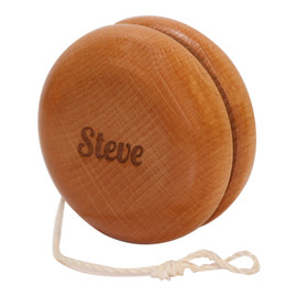 Custom wooden laser engraved yoyo