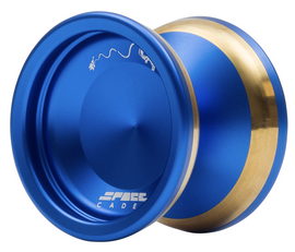 Space Cadet Yoyo dark blue with gold