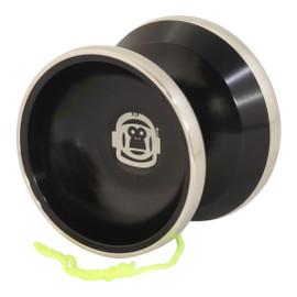 Spintastics Space Monkey Bimetal Aluminum Yoyo with stainless rings
