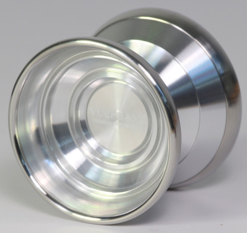 Magic Vulfgang Bi-Metal Yoyo Silver