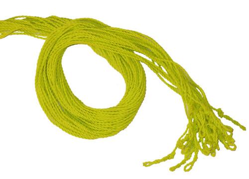 25 Yellow Slick 6 yoyo strings