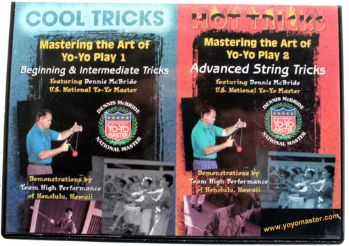 Dennis Mcbride Cool/Hot Yoyo Trick DVD