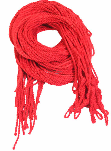 25 Red Polyester Yoyo Strings Type 6