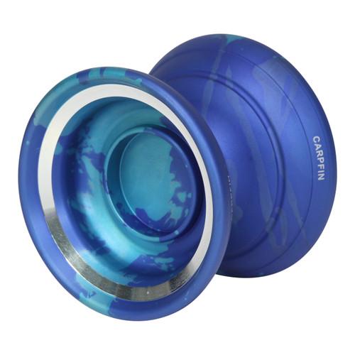 Magic Carpfin yoyo blue with blue splash