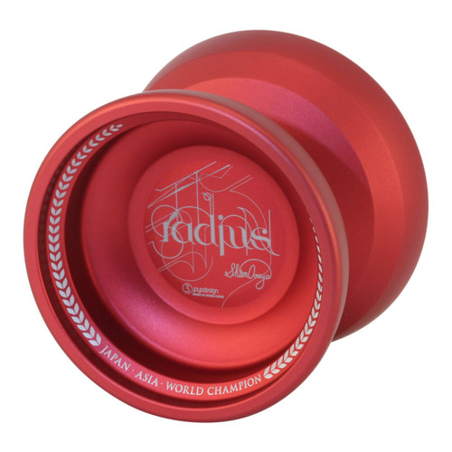 C3 Radius Yoyo red