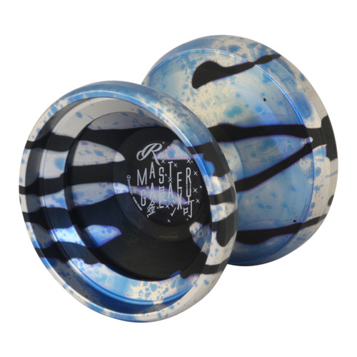 C3 Remaster Galaxy Yoyo Silver blue black splash