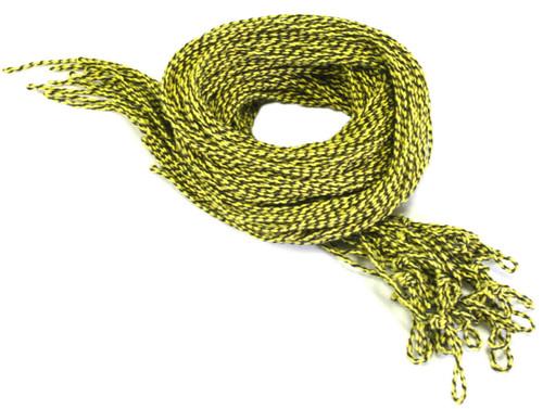 25 Cotton Yellow & Black Yoyo Strings Type 6