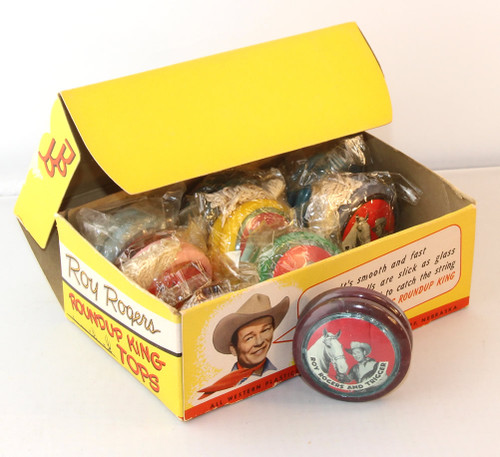 Roy Rogers Vintage Yoyos (new old stock in display box)