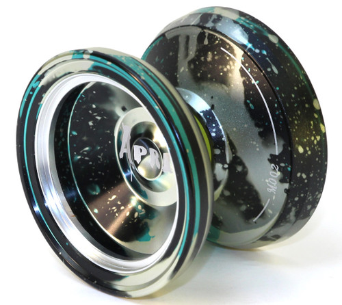 Magic Yoyo April Yoyo Black Silver Turquoise