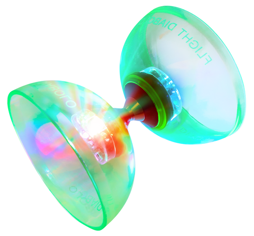 Flight LED light up Diabolo Chinese yoyo