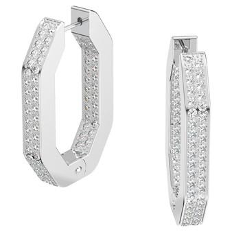 Dextera Hoop Earrings Silver