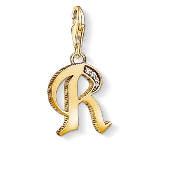 Vintage Letter R Gold