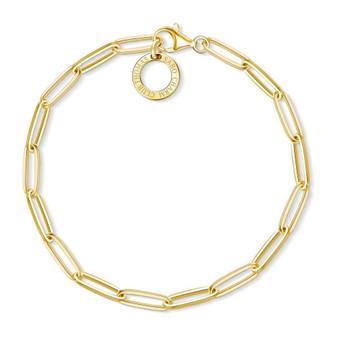 Long Link Gold Bracelet
