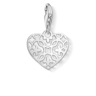 Arabesque Heart Charm