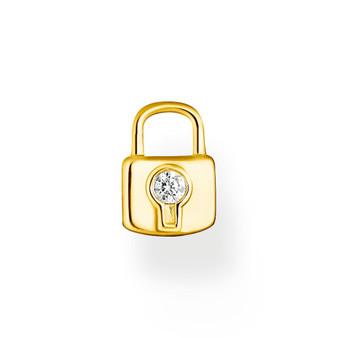 Lock Ear Pendant Gold