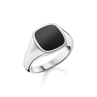 Onyx Classic Signet Ring