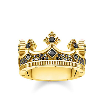 Kingdom Crown Ring Gold