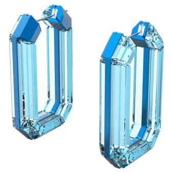 Lucent hoop earrings