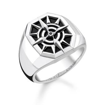 Black Compas Ring