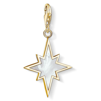 Mother of Pearl Star Gold