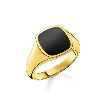 Onyx Gold Ring