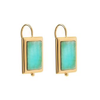 Josephine Amazonite Earring