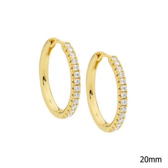 Gold Hoop