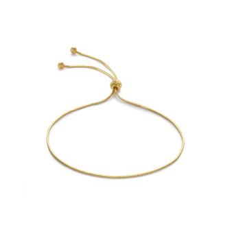 9ct Gold Snake Chain Bracelet