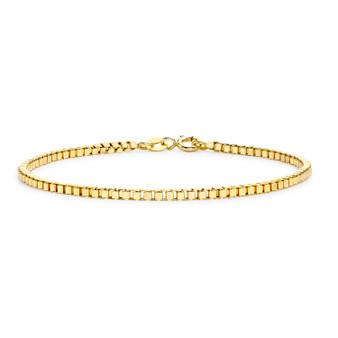 9ct Box Chain Bracelet
