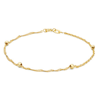 9ct Gold Twist Bracelet