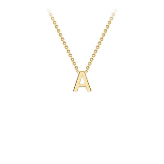 9ct Gold Letter Necklace