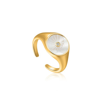 Eclipse Gold Ring