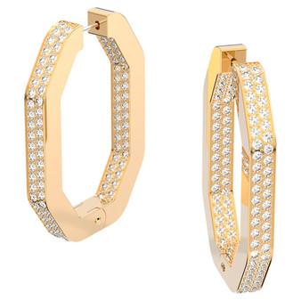 Dextera Gold Hoop Earrings