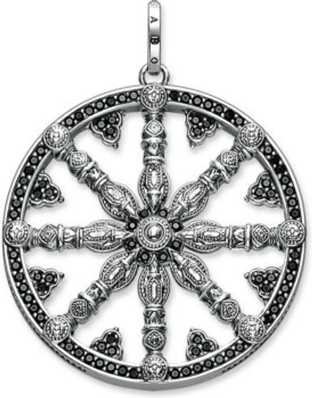 Karma Wheel Pendant