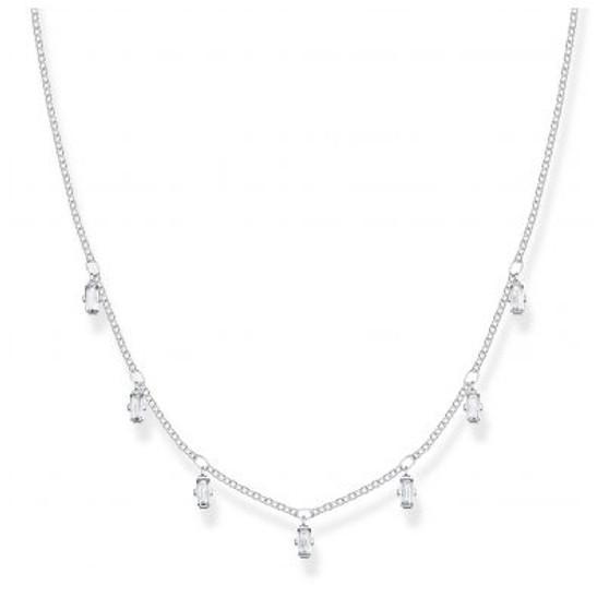 Baguette Necklace
