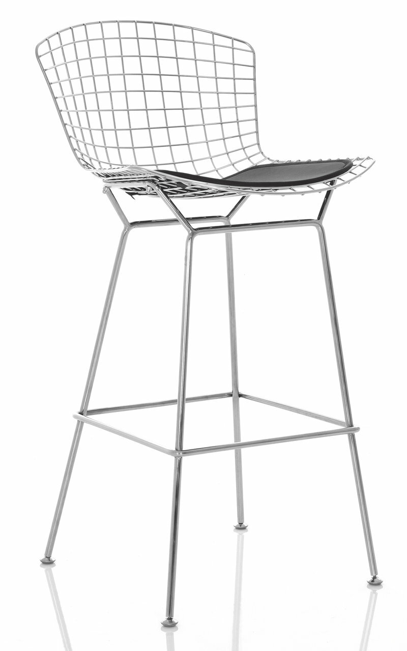 Excellent Bertoia Style Bar Stool Ocoug Best Dining Table And Chair Ideas Images Ocougorg