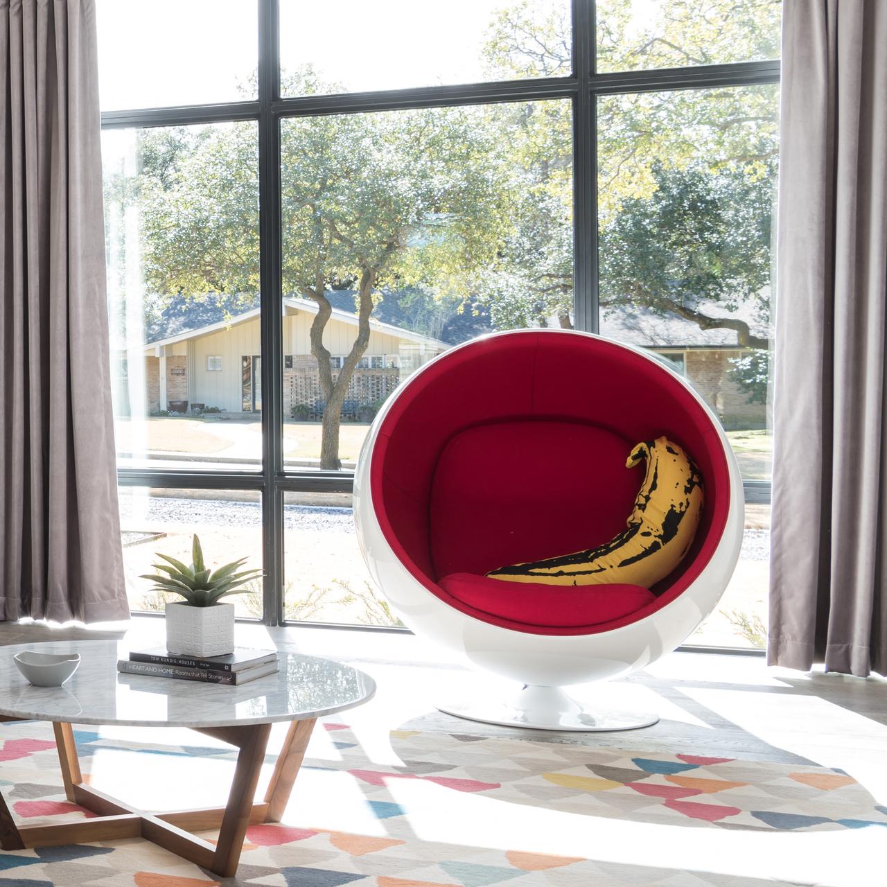 Pleasing Classic Sphere Chair Inzonedesignstudio Interior Chair Design Inzonedesignstudiocom