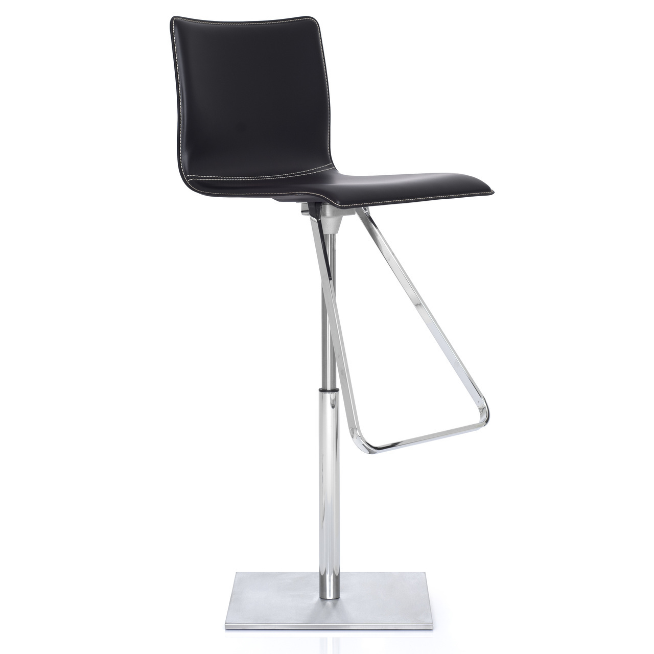Tremendous Toto Bar Stool Chrome Base Caraccident5 Cool Chair Designs And Ideas Caraccident5Info