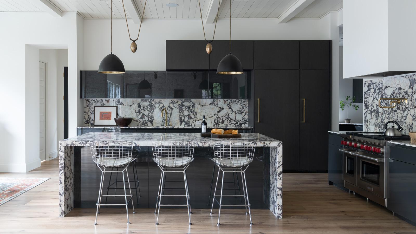 A Bold And Monochromatic Kitchen Cantoni Cantoni