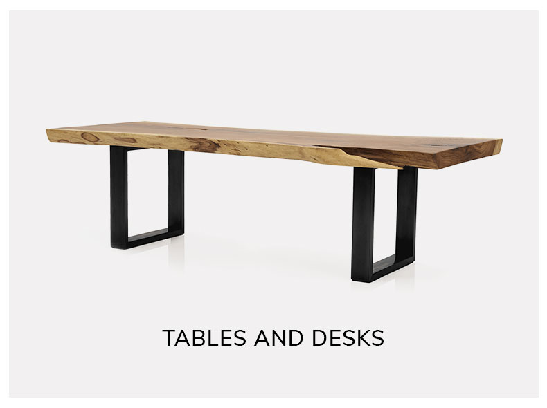 shop vintage tables and desks