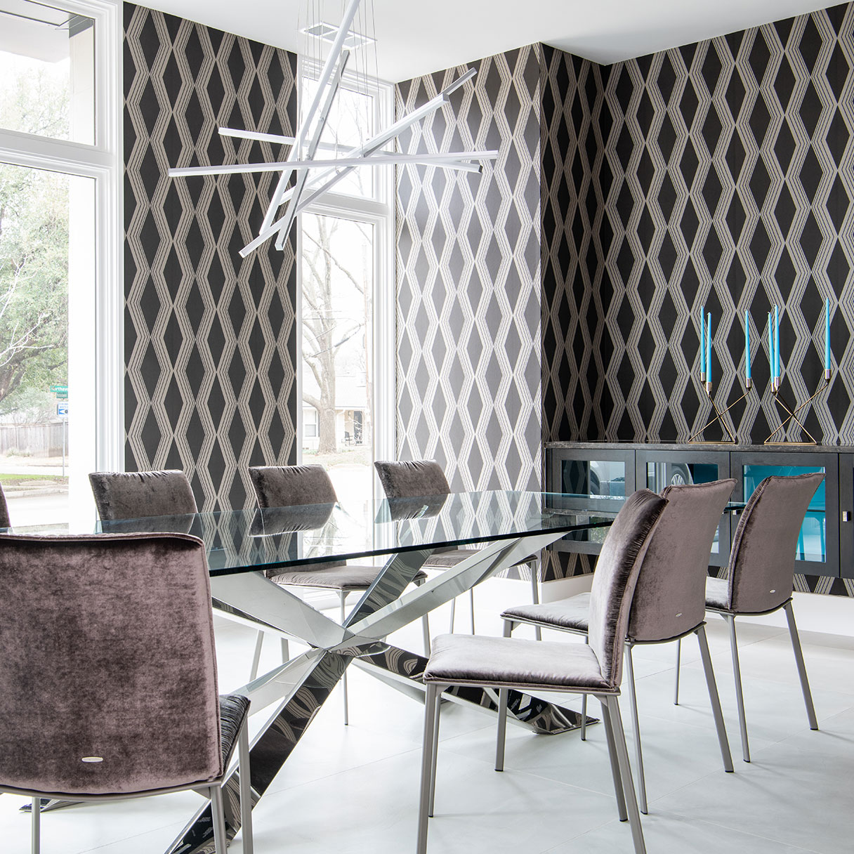 Modern Style Meets Functional Elegance Dining Room